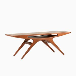 Smile Coffee Table by Johannes Andersen for CFC Silkeborg, 1950s