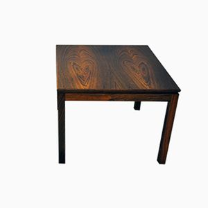 Vintage Square Danish Rosewood Side Table