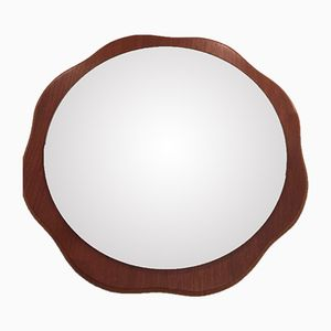 Mirror with Flower-Shaped Frame, 1960s