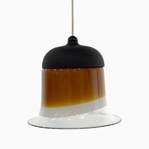 Mid-Century Glass Pendant Lamp from Peil & Putzler, 1960s