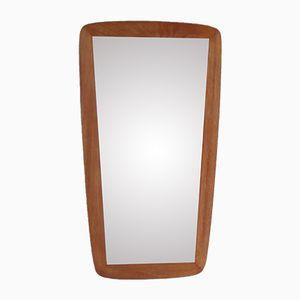 Miroir Asymetrique Vintage en Teck