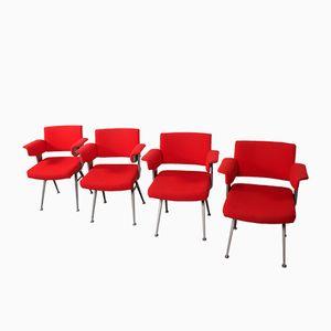 Resort Chairs by Friso Kramer for Ahrend de Cirkel, 1960s, Set of 4