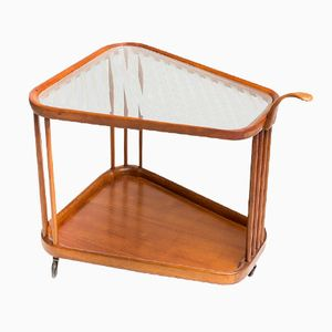 Vintage Italian Teardrop Serving Trolley