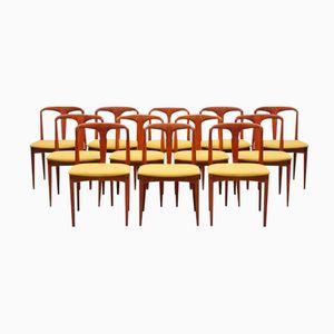 Vintage Juliane Chairs by Johannes Andersen for Uldum, 1960s, Set of 12