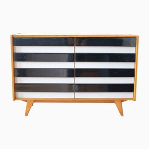 Black & White Sideboard by Jiri Jiroutek for Interier Praha, 1960s