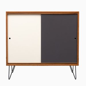 Sideboard with Colored Reversible Doors, 1960s