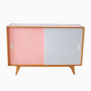 Pink & Grey Sideboard by Jiri Jiroutek for Interier Praha, 1960s