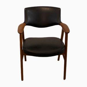 Mid-Century Armlehnstuhl von Erik Kirkegaard für Høng Stolefabrik