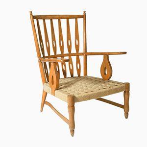 Mid-Century Armchair by Paolo Buffa for Maspero Galdino
