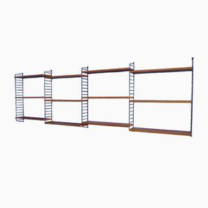 Elm Wall Shelf by Kajsa & Nisse Strinning for String, 1960s
