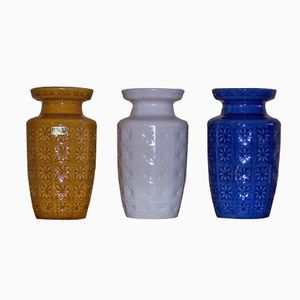 Vintage Model 261-18 Vases from Scheurich, Set of 3