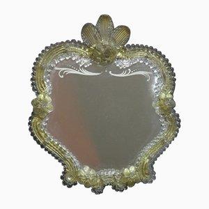 Murano Glass Standing Mirror, 1950s