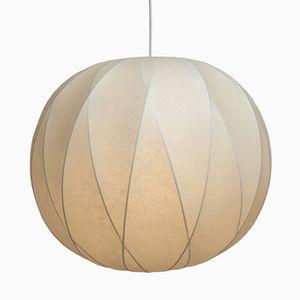 German Mid-Century Cocoon Pendant Lamp, 1960s