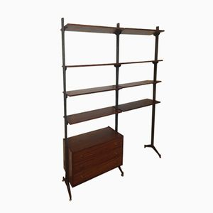 Mid-Century French Shelving Unit, 1950s