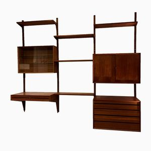 Modular Royal System Shelving Unit by Poul Cadovius for Cado, 1965