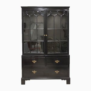 19th Century Ebonised Bookcase