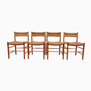 Dordogne Chairs from Sentou, 1950s, Set of 4