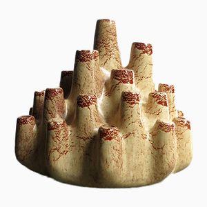 Vintage Keramik Vase von Bartoncello