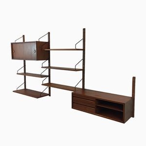 Mid-Century Vintage Danish Royal System Wall Unit by Poul Cadovius for Cado