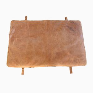 Vintage Czech Leather Gymnastic Mat