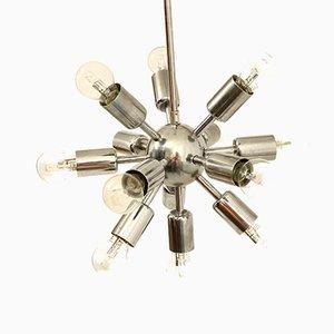 Mid-Century Chrome Sputnik Ceiling Light from Drupol