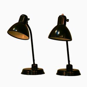 Bauhaus Lampen von Christian Dell für Kaiser Idell, 1939, 2er Set