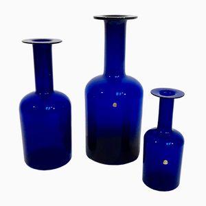 Vases par Otto Brauer pour Kastrup Holmegaard, 1959, Set de 3