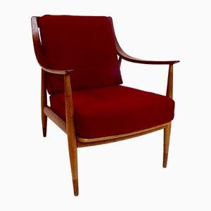 FD 147 Easy Chair by Peter Hvidt and Orla Mölgaard Nielsen for France and Daverkosen, 1957