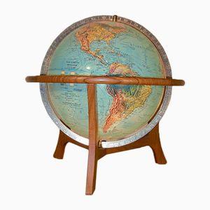 Beleuchteter Dänischer Globus von Scan Globe AS, 1972