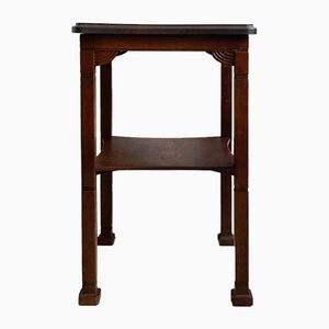 Art Deco Oak Side Table