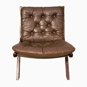 Mid-Century Rosewood Lounge Chair by Ekornes