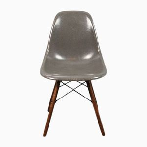 Vintage Elephant-Grey DSW Chair by Charles and Ray Eames for Herman Miller