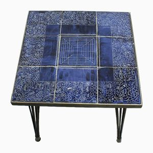 Vintage Handcrafted Ceramic Coffee Table, 1950s
