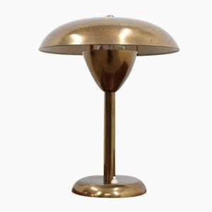 Vintage Messing Schreibtischlampe von Stilnovo