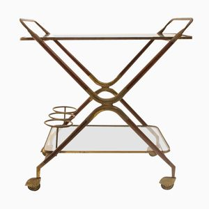 Italian Lunch Trolley by Cesare Lacca, 1950s