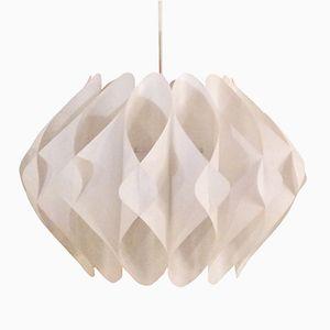 Lampe à Suspension en PVC, Danemark, 1960s