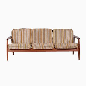 Teak Sofa by Arne Vodder for France & Son, 1960s