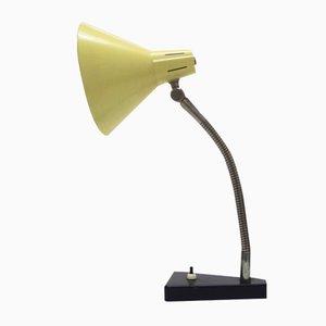 Mid-Century Metall Tischlampe von Busquet für Hala Zeist, 1950er