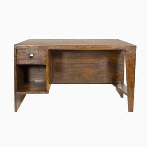 Französischer Palisander Schreibtisch von Pierre Jeanneret, 1960er