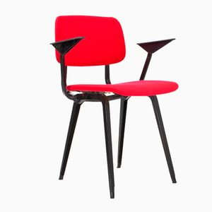 Vintage Revolt Dining Room Chair by Friso Kramer for Ahrend de Cirkel, 1954
