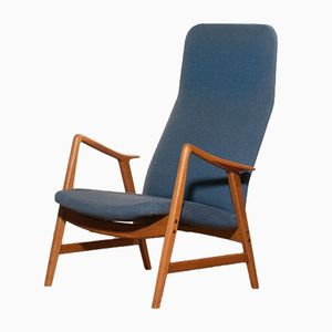 Swedish Lounge Chair from Ljungs Industrier, 1950s