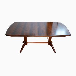 Burford Rosewood & Mahogany Dining Table by WH Russell for Gordon Russell, 1959