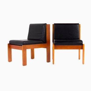 French Armchairs by André Sornay for Sornay Company, 1950s, Set of 2
