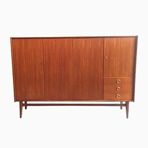 Teak Highboard from Bartels Werken, 1960s