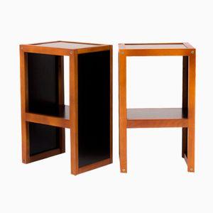 Tables de Chevet Vintage par André Sornay pour Sornay company, 1950s, Set de 2