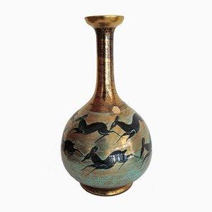 Porcelain Vase by Jean Mayodon for Nationale de Sèvres, 1950s