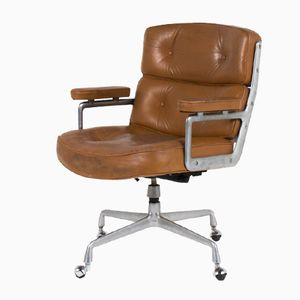 Vintage Lobby Desk Armchair by Charles and Ray Eames for Mobilier International, 1960s