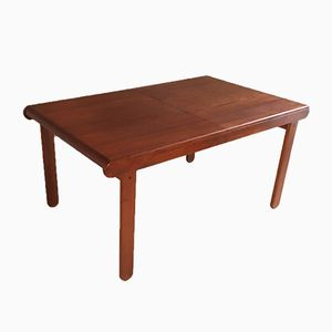 British Extendable Teak Table, 1970s