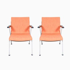 Mid-Century OASE Lounge Chairs by Wim Rietveld for Ahrend De Cirkel, 1950s, Set of 2