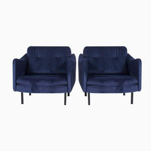 Teckel Armchairs by Michel Mortier for Steiner, 1950, Set of 2